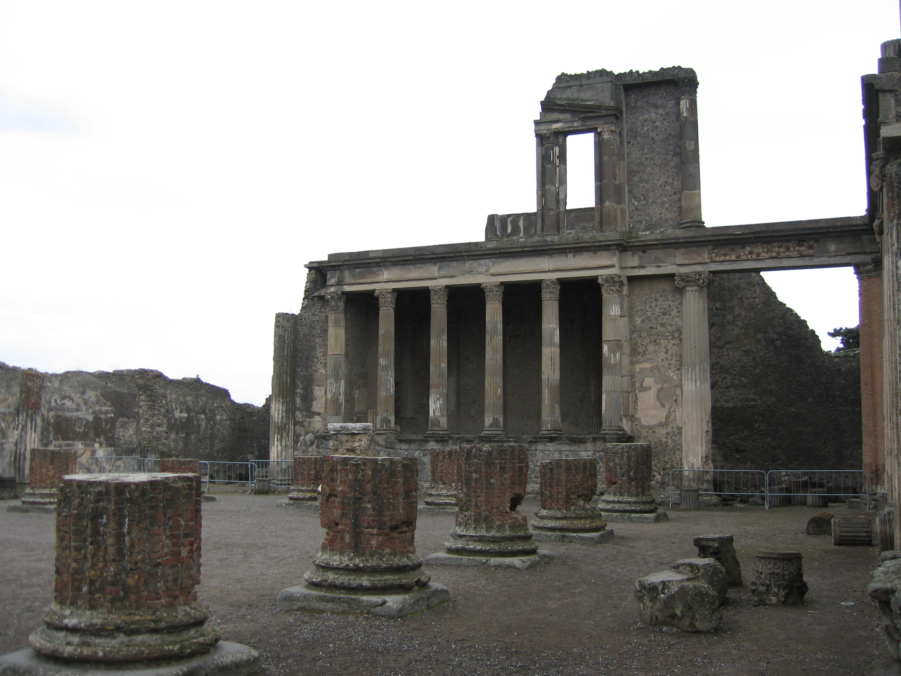 Pompei. Vulkanlandet