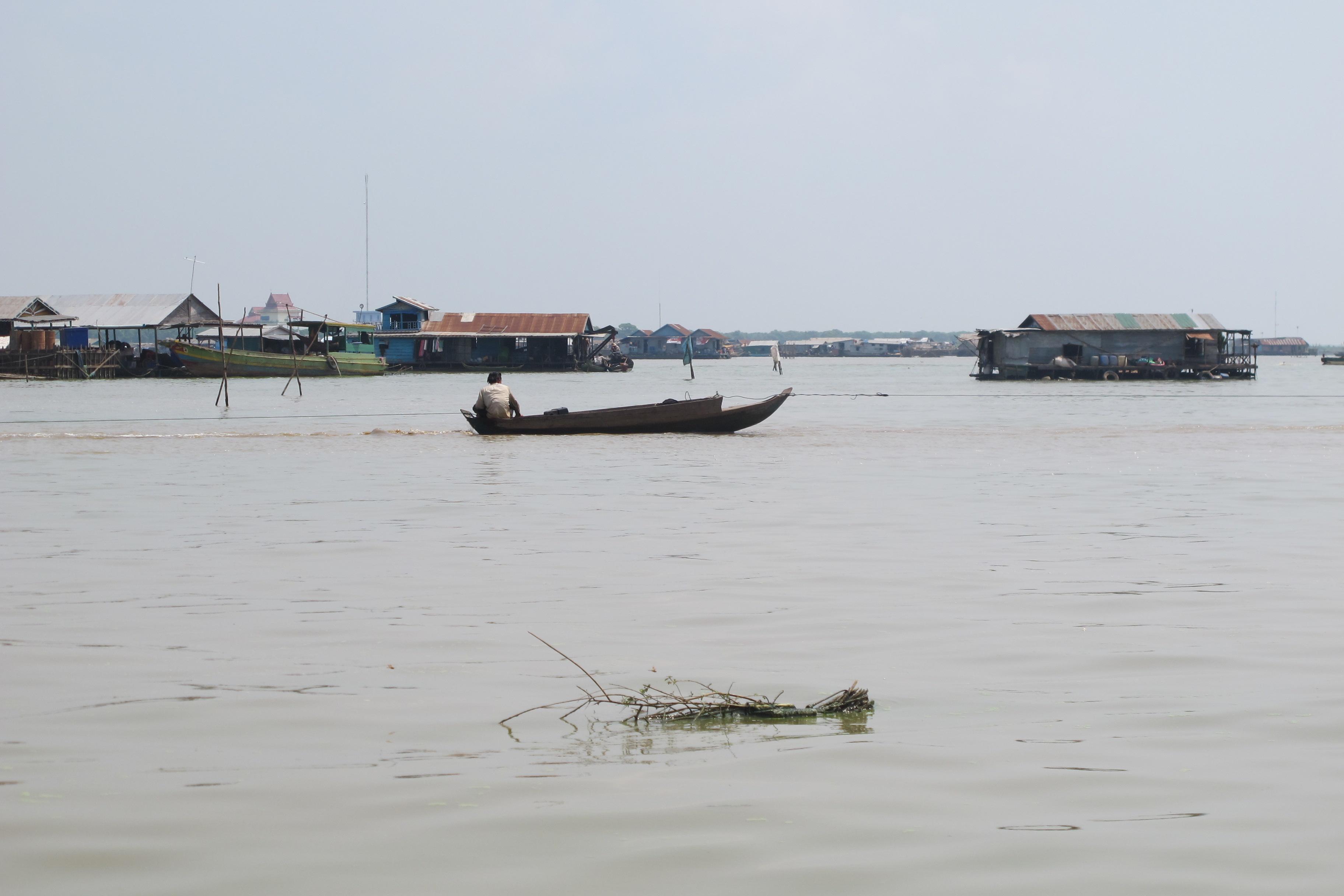 Kambodsjas flytende landsbyer