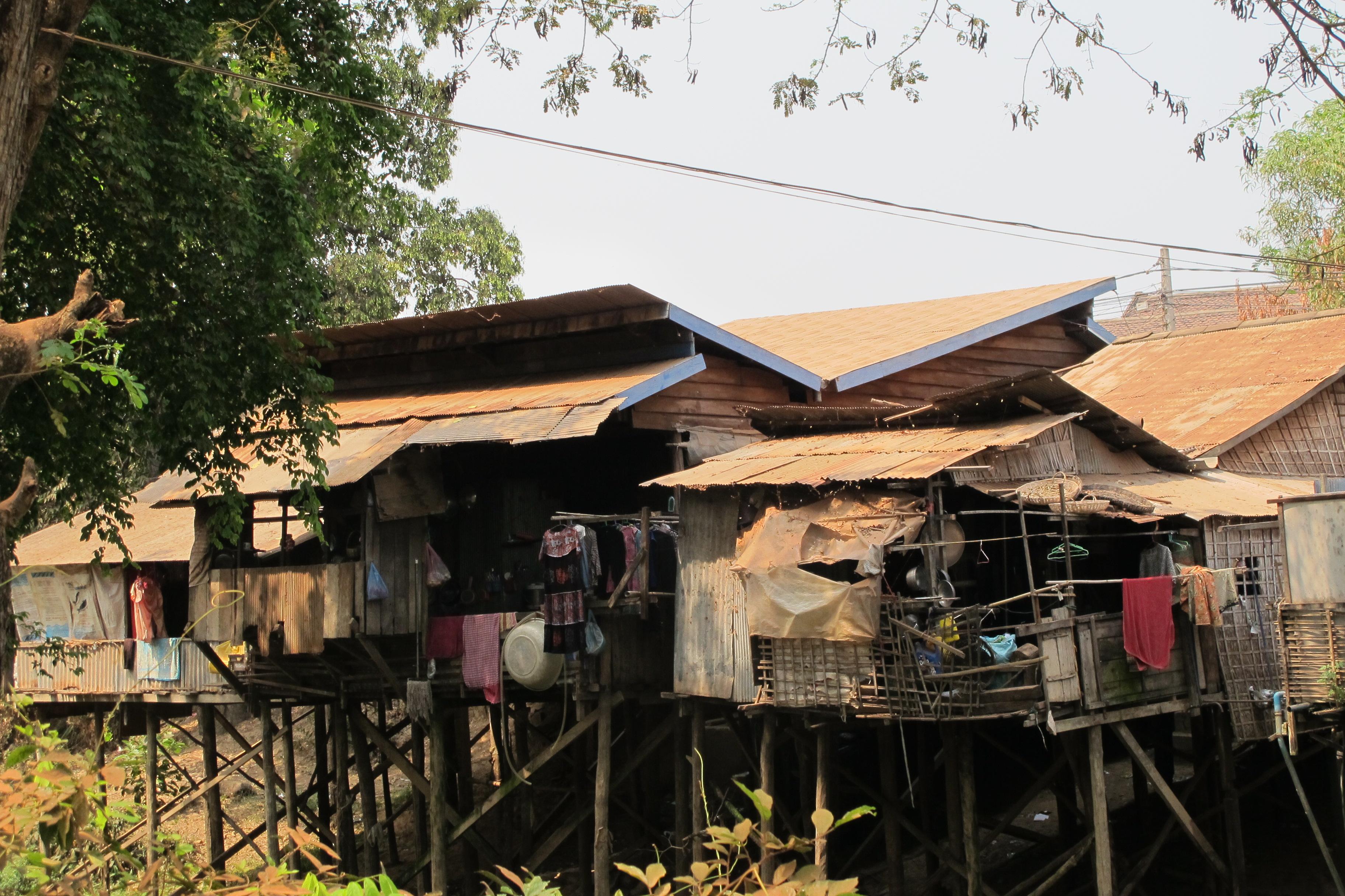 På sykkel rundt i Siem Reap