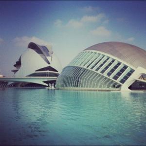 Trendy og kontrastfylt i Valencia